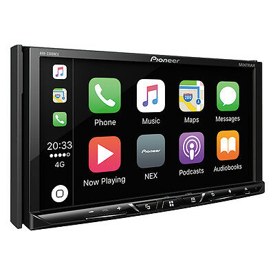 Pioneer AVH-2300NEX RB Double 2 DIN DVD/CD Player Bluetooth Android Auto CarPlay