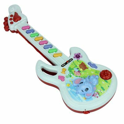 Electric Guitar Toy Musical Play Kid Boy Girl Toddler Learning Electron Toy BV