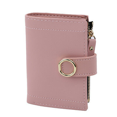 Artificial Leather Card Money Wallets Pocket ID Holder Rfid Blocking Wallet D