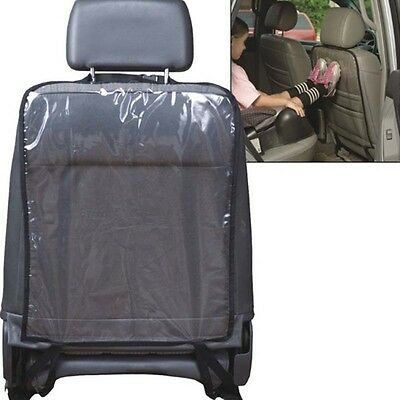 1 x PVC Car Seat Back Protector for Children Baby Kick Protective Mat Pad New
