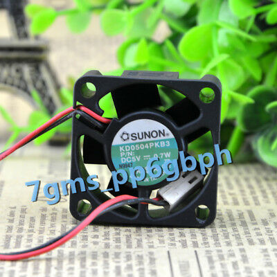 FOR SUNON KD0504PKB3 fan 40*40*20mm 5V 0.7W 2pin 1PCS With Good condition