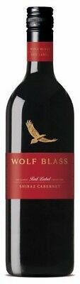 Wolf Blass Red Label Shiraz Cabernet 2017 (6 x 750mL) SEA