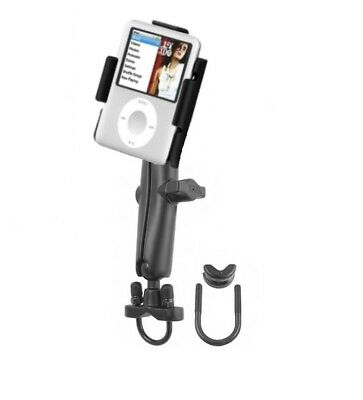 Long Arm Bike Motorcycle Mount Holder Kit fits Apple iPod Nano 3G 3rd Generation