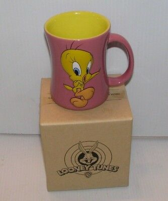 Looney Tunes Tweety Relief Cup Mug 2005