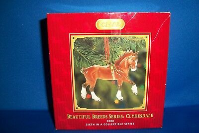 Breyer #700508 Clydesdale Ornament 2008 Beautiful Breeds Holiday Ornament - NIB