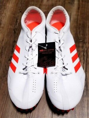 on sale 310a6 393eb Adidas Adizero Prime Sprint Sp Spike Track Field Shoes White Red Size 12  Bb4117
