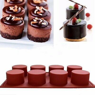 Home Chocolate Cake Candy Cookies Baking Mould Pan Tools Cupcake Silicone Mold