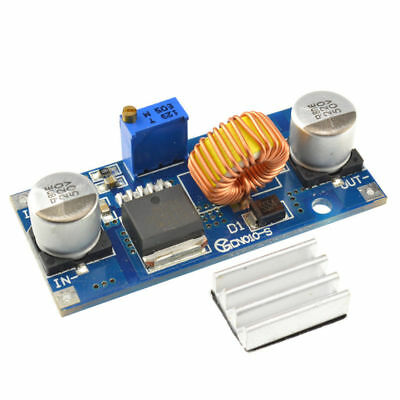 1PCS Lithium Charger Step Down 1.25-36VDC Adjustable 5A Power Supply Module