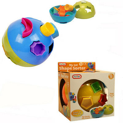 Fun Time My First Shape Sorter Ball Toy Children Kids Fun Age 12 Months+