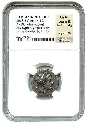 4th-3rd Centuries BC AR Didrachm NGC VF (Ancient Greek)