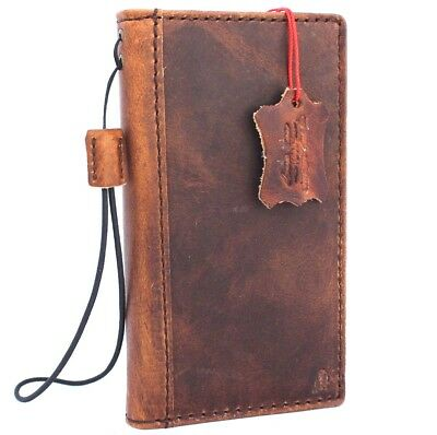 Genuine real retro leather Case for apple iphone 6s book wallet cover s 6 card