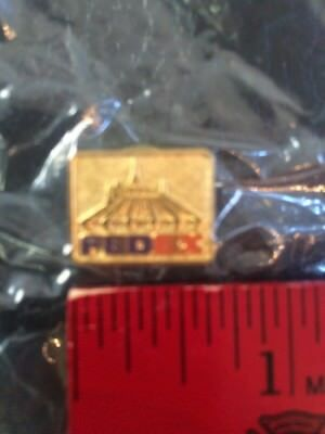 Walt Disney World Promo Pin Space Mountain FedEx limited Edition Pin In Sealed