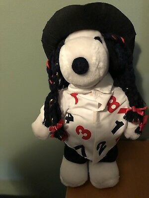 SNOOPY PEANUTS BOY GEORGE CULTURE CLUB 13INCH PLUSH DOLL Used