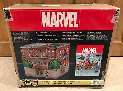 New Marvel Famous Firsts 75Th Anniversary Masterworks Slipcase Set Omnibus Echh