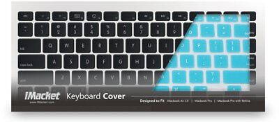 "iMacket - Keyboard Cover Silicone Skin for MacBook Air 13"" (blue)"