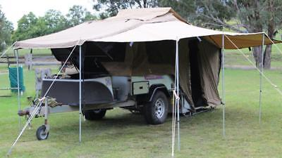 kimberley kamper camper trailer hard floor off road