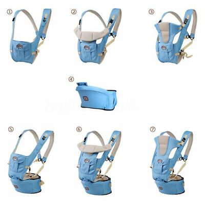 Carrier per Porta Bambino Neonato Adjustable Infant Sling Zaino Marsupio Baby
