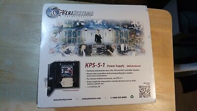 Keri Systems KPS-5-1 Power Supply 12VDC @ 2.5 Amp. Metal enclosure & transformer