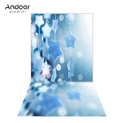 Andoer 1.5 * 0.9m/4.9 * 3.0ft Backdrop Photography Background Twinkle Star Q2N1