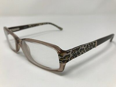 3fd076ecc73 Bebe Eyeglass Frames Womens Accomplished BB5003 Crystal Topaz 52-16-135mm  PX95