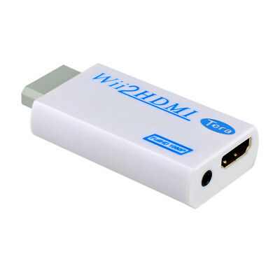 Wii to HDMI Full HD Wii2hdmi 1080P/720P Converter Upscaling Adapter 3.5mm Audio