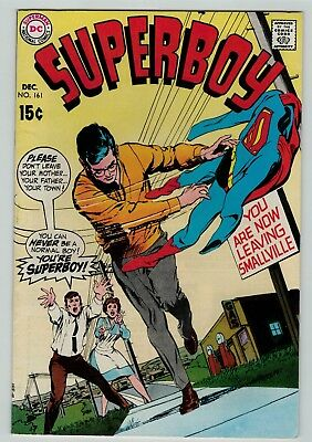 Superboy 161 Fine FN solid copy 1969 DC Silver Age Neal Adams cover
