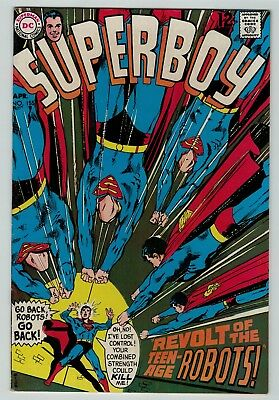 Superboy 155 Fine FN solid copy 1969 DC Silver Age Neal Adams cover