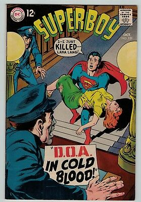 Superboy 151 Fine FN solid copy 1968 DC Silver Age Neal Adams cover