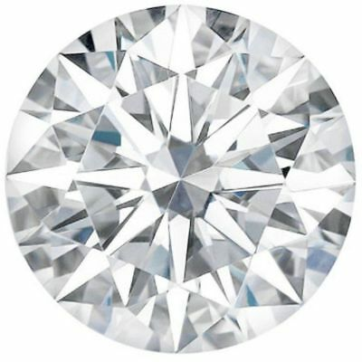 loose moissanite Genuine Brilliant Round Cut Mixed Color 0.50 to 4.00 ct VVS1//2