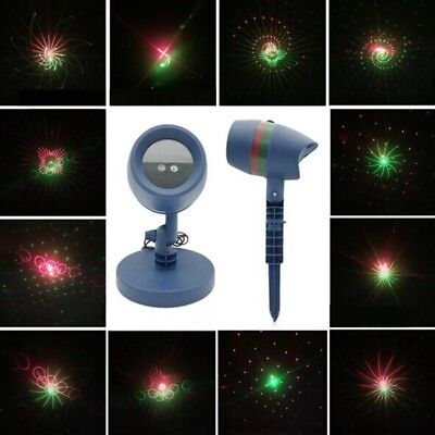 LED Star Projector Christmas Moving Laser Projection Outdoor Indoor Light