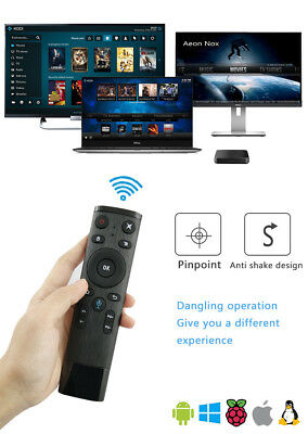 Bluetooth Q5 WIFI Voice Remote Control Air Mouse For Smart TV Android Box PCTV