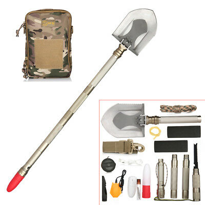 Tibetan Mastiff Foldable Military DIY Shovel Multitools Outdoor Camping Hiking
