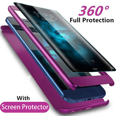 360 Full Protective Phone Case For Samsung Galaxy S7 Edge S8 S9 Plus Note 8 9