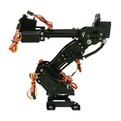1 Set 8DOF Aluminium Mechanical Robotic Arm Clamp Claw Mount Robot Kit