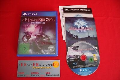 Final Fantasy XIV: A Realm Reborn   Sony PlayStation 4