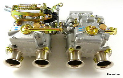 FORD 1500 PRE X/FLOW CORTINA ANGLIA.KITCAR.WEBER 40 DCOE x2 CARB/CARBURETTOR KIT