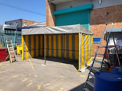 market stall 3m x6m heavy duty frame and PVC. 5 available