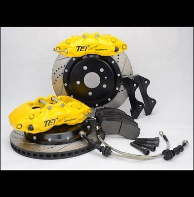 vw golf gt gti tdi 4 pot 330x28mm big brake kit