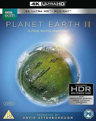 Planet Earth II Blu Ray 4K Plus Normal Blu Ray New And Sealed