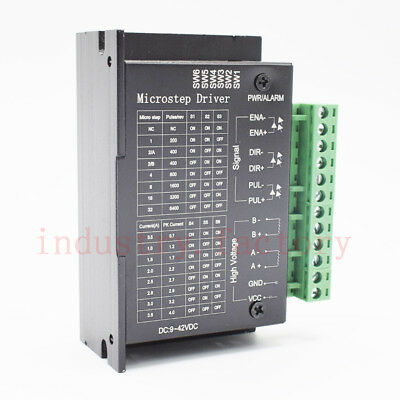 TB6600 Stepper Motor Driver Controller Micro-Step CNC Single Axis 2/4 Phase 36V