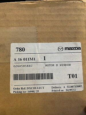 Mazda GJ6A5858XC Window Motor Regulator 2003-2012 Mazda CX7 CX9 RX8 Mazda 3 5 6
