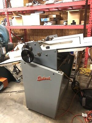 Rosback Model 220 Score and Perforing Machine