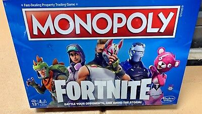 Fortnite Monopoly Limited Edition Board Game 34 99 Picclick