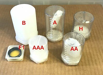 """Four  Filter Cases - for 1.25"""" telescope filters  Size F1"""