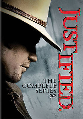 Justified: The Complete Series: Season 1-6 (DVD, 2015)  Brand NEW w/Slipcover