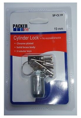 Packer One SP-CL19 Cylinder Lock 19mm  QTY 10
