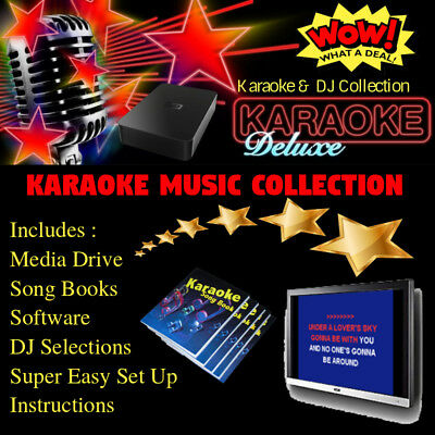 Professional Karaoke Songs DJ Collection With Licenses - Monthly Karaoke Updates