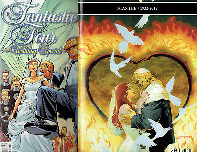 Fantastic Four #5 & Wedding Special #1 650Th Spectacular Marvel Comics!