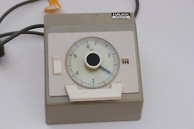 Hauck Tu5E Electric Enlarger Timer 0-6 Seconds Or 0-60 Seconds