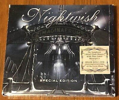 "Nightwish ""imaginaerum"" /ltd. Deluxe tour edition slipcase."